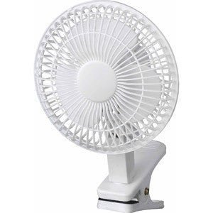 "6"" Clip-On Desktop Fan"