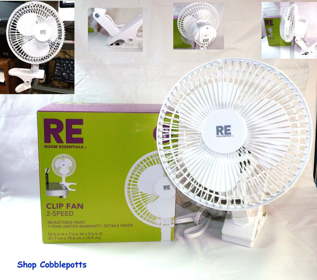 Clip-On Desktop Fan