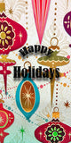 HOLIDAY CUBE SIGNS- MERRY CHRISTMAS & HAPPY HOLIDAYS - CubeStuff.com