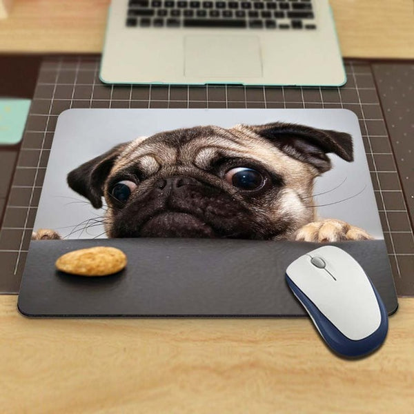 I Love Pugs Mousepad
