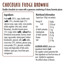 Load image into Gallery viewer, Chocolate Fudge Brownie Ice Cream
