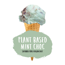Load image into Gallery viewer, Plant Based Mint Choc Ice Cream