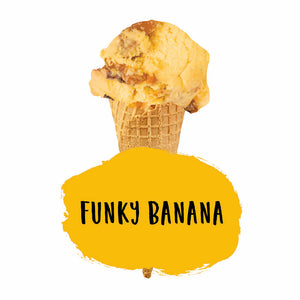 Funky Banana Ice Cream
