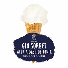 Load image into Gallery viewer, Gin & Tonic Sorbet (ABV 0.5%)
