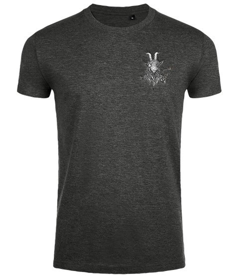 The Smoking Goat Men's Slim Fit T-shirt - Charcoal