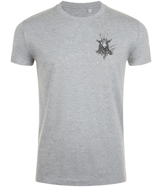 The Smoking Goat Men's Slim Fit T-shirt - Grey