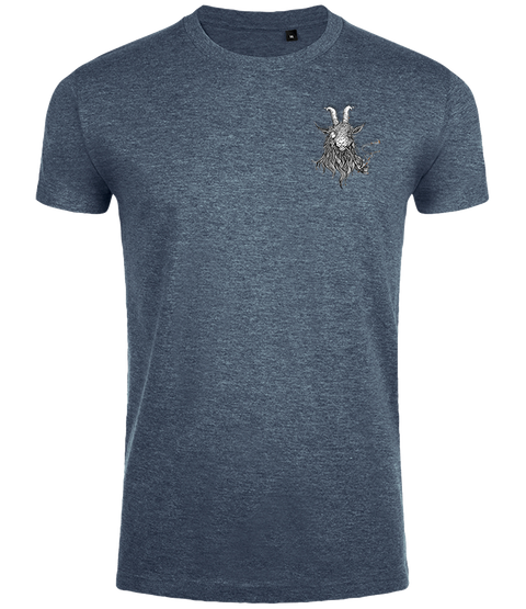 The Smoking Goat Men's Slim Fit T-shirt - Slate Blue