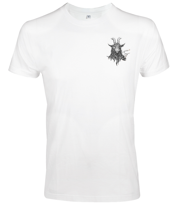 The Smoking Goat Slim Fit T-shirt - White