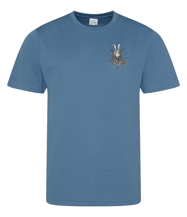 The Smoking Goat Men's T-Shirt - Navy