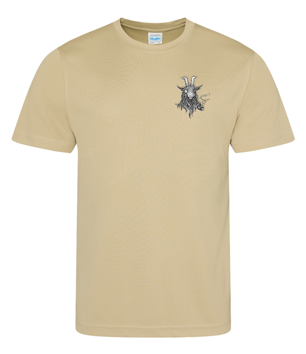 The Smoking Goat Men's T-Shirt - Beige
