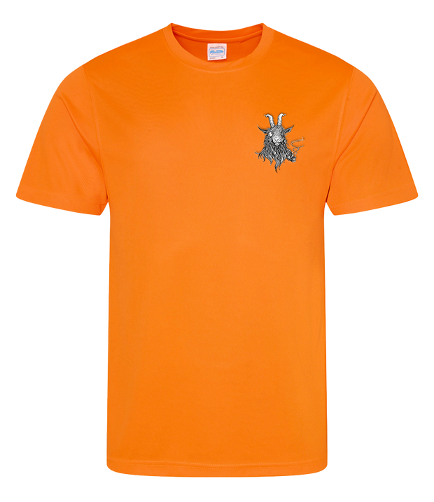 The Smoking Goat Men's T-Shirt - Orange