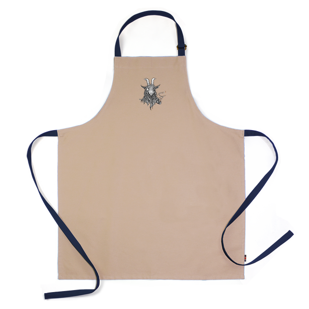 The Smoking Goat Apron