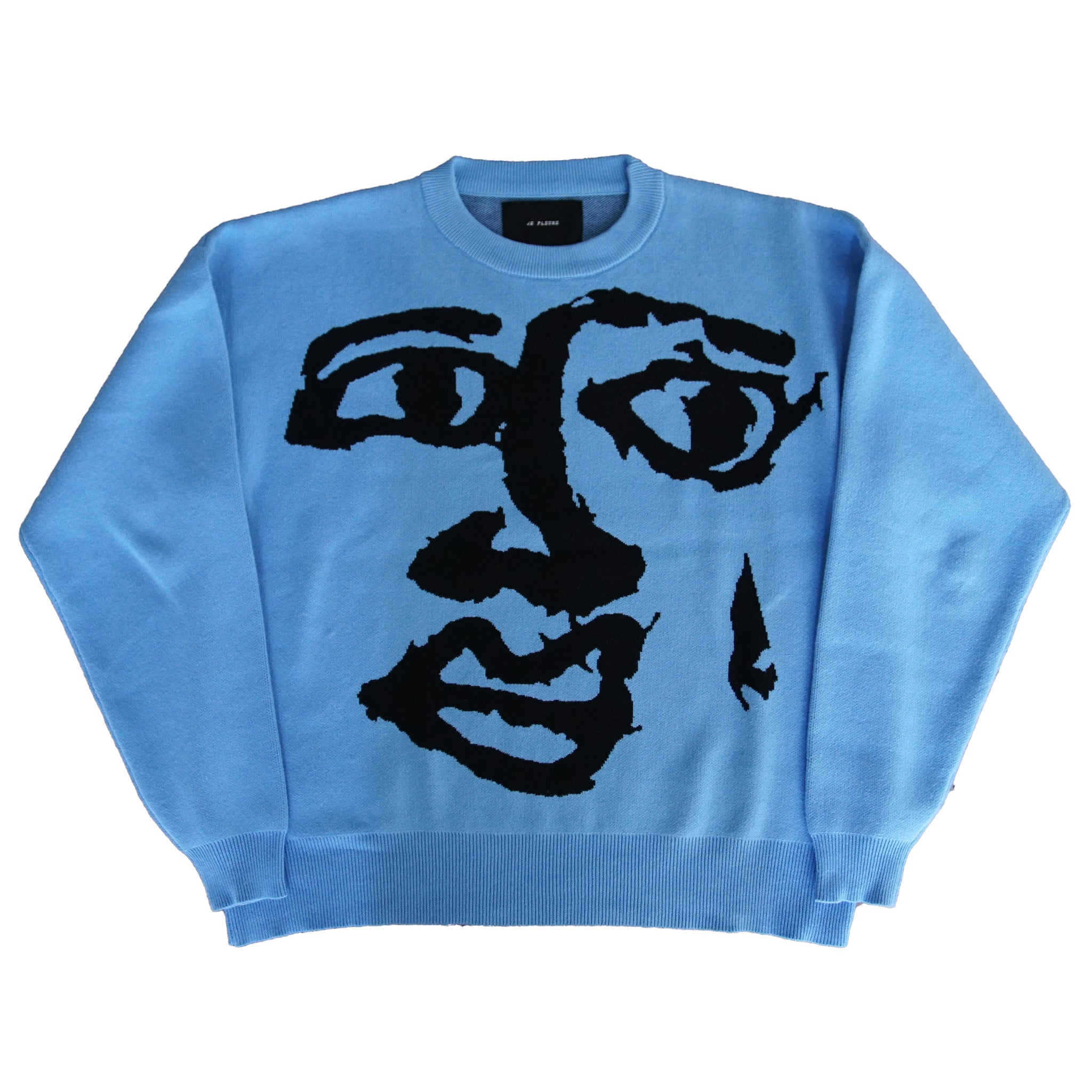 Face In The Sky Knit Sweater