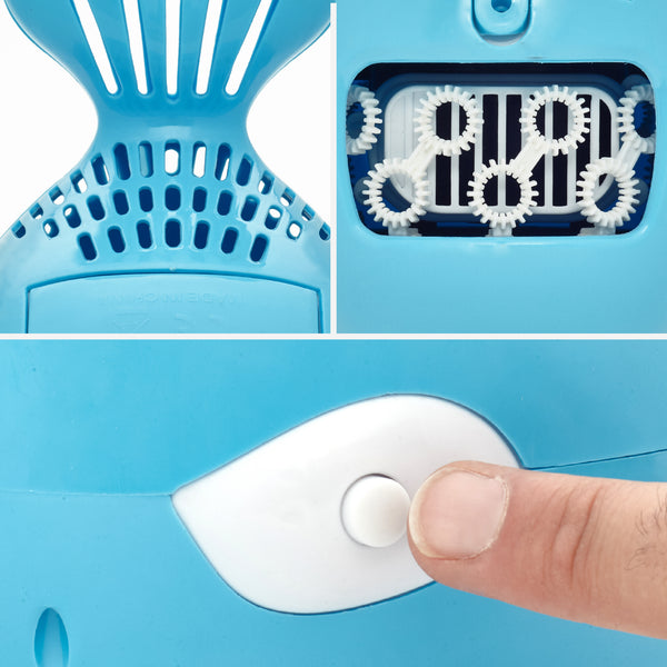 Automatic Whale Bubble Machine