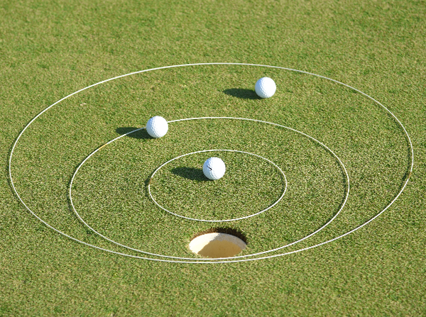 "eGolfRing Putting Package (10"", 20"", 30"")"