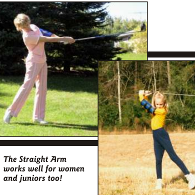 Straight Arm (2 Sizes)