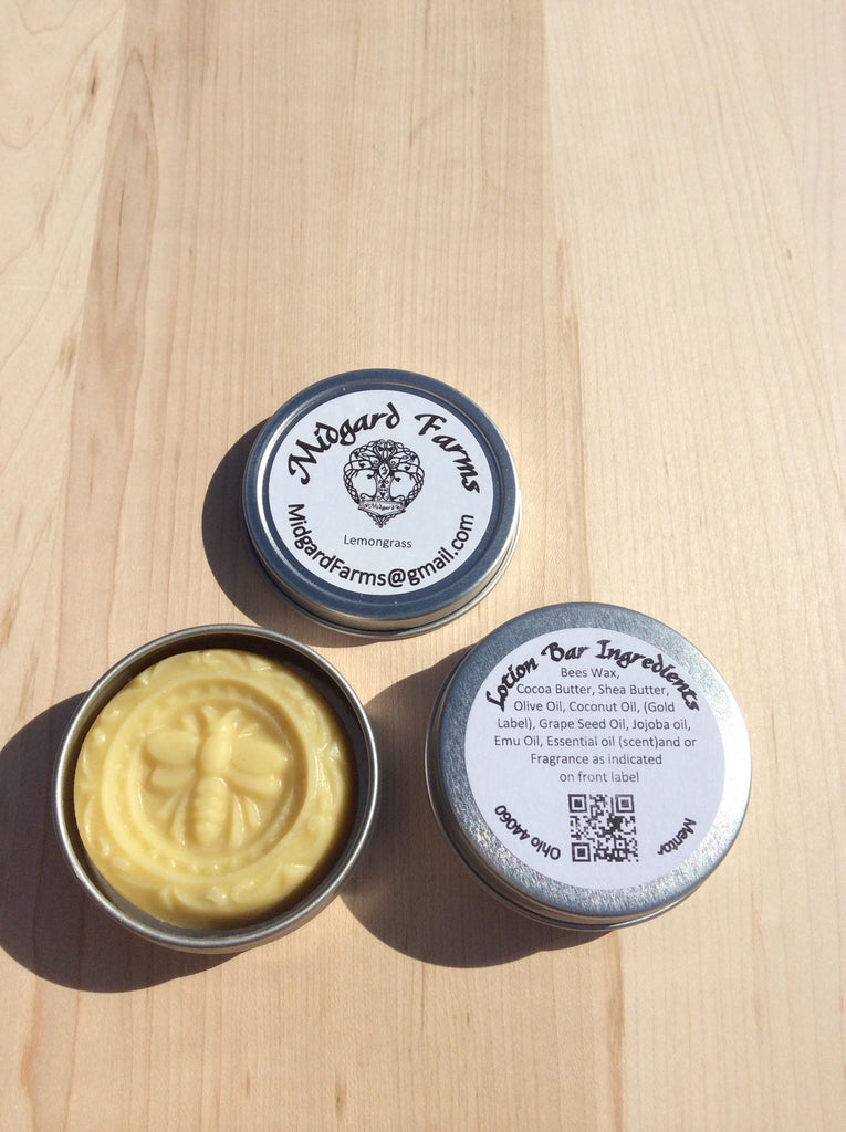 Lemongrass (Lotion Bar)
