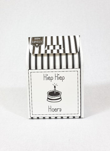 Candy in a box - Hiep hiep hoera