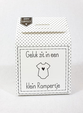 Candy in a box - Klein rompertje