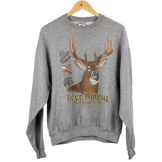 Vintage Jerzees Deer Jumper