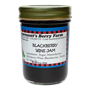 Blackberry Wine Jam