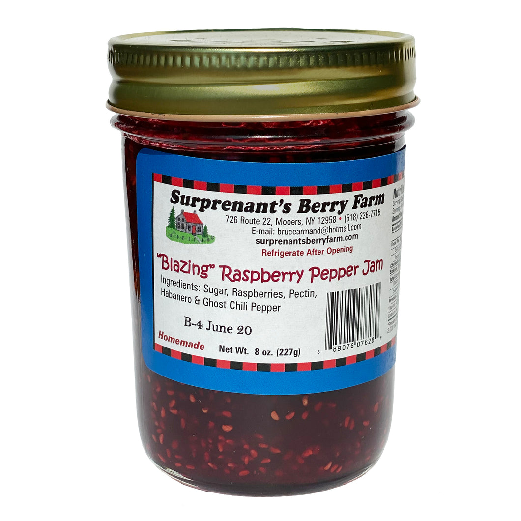 Blazing Raspberry Pepper Jam