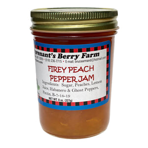Fiery Peach Pepper Jam