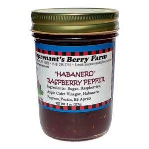 Habanero Raspberry Pepper Jam