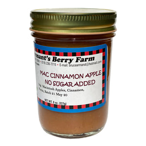 Mac Cinnamon Apple Jam - No Sugar Added