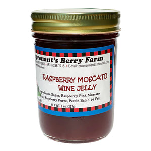 Raspberry Moscato Wine Jelly