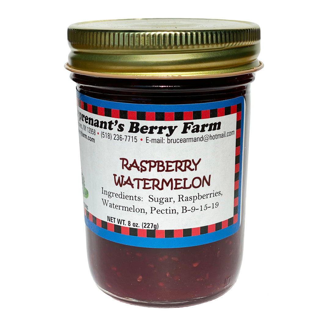 Raspberry Watermelon Jam