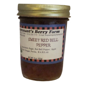 Sweet Red Bell Pepper Jam