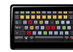 Steinberg Cubase / Nuendo Keyboard Stickers | All Keyboards | QWERTY UK, US