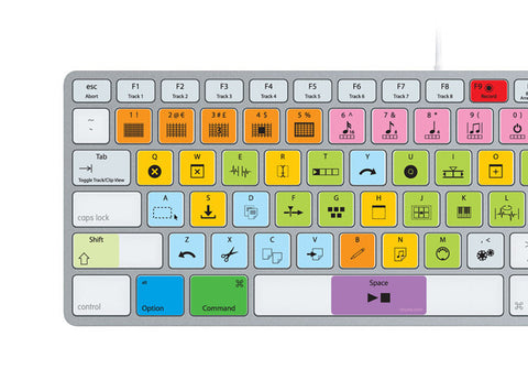 Ableton Live Keyboard Stickers (Pro Edition) | Mac | QWERTY UK, US - miuxe