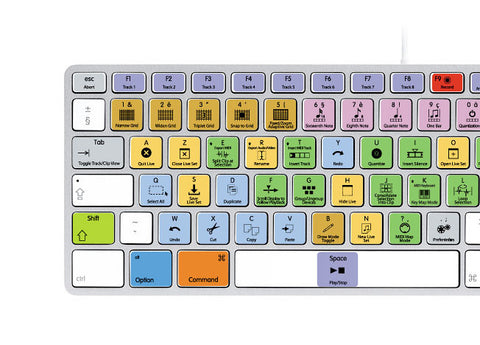 Ableton Live Keyboard Stickers | Mac | AZERTY Français - miuxe