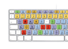 Steinberg Cubase Nuendo Keyboard Stickers | Mac | QWERTY UK, US
