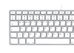 English Korean Keyboard Stickers | Mac