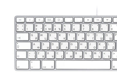 English Russian Keyboard Stickers | Mac