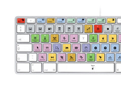 Apple Final Cut Pro Keyboard Stickers (White Letters) | Mac | QWERTY UK, US