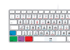 Apple Logic Pro X Keyboard Stickers | Mac | QWERTY UK, US