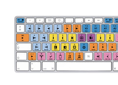 Avid Media Composer Keyboard Stickers | Mac | AZERTY Français