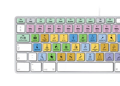 Adobe Photoshop Keyboard Stickers (Black Letters) | Mac | QWERTY UK, US