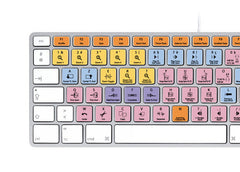 Avid Pro Tools Keyboard Stickers | Mac | AZERTY Français