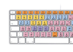 Avid Pro Tools Keyboard Stickers | Mac | QWERTZ Deutsche