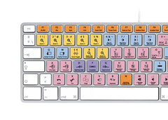 Avid Pro Tools Keyboard Stickers | Mac | QWERTY Español