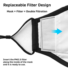 Load image into Gallery viewer, Reusable Cotton Mask