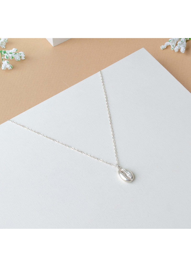 Concha Necklace Silver