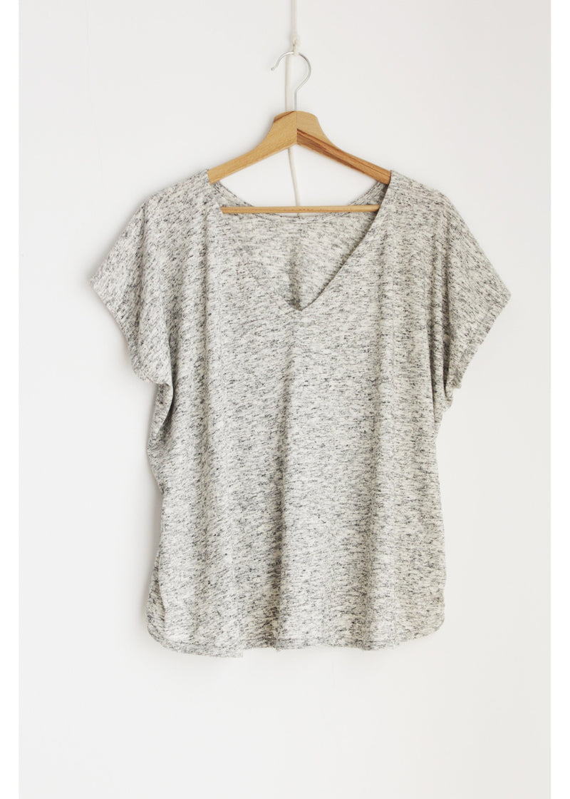Blouse in Grey