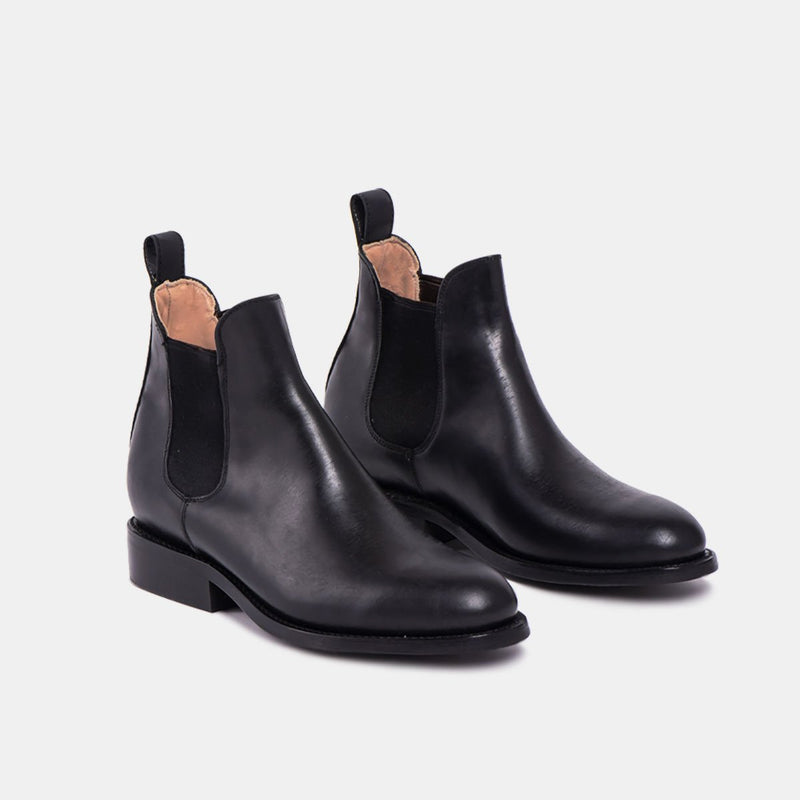 PEDRO Chelsea Tire Boot Black