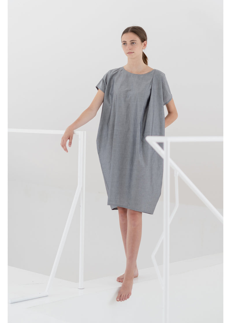 Dress Cocoon in Grey